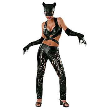 Discount Sexy Halle Berry Catwoman Deluxe Movie Costume
