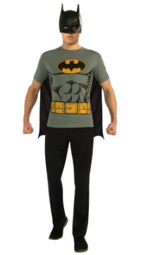 Adult Batman T-Shirt Costume