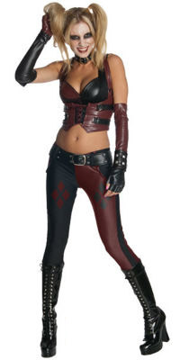Batman Arkham City Harley Quinn Costume