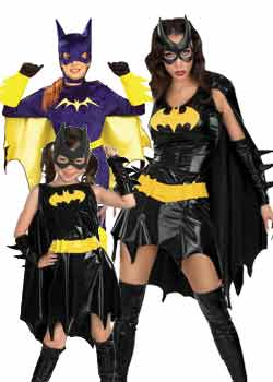 woman Bat Girl costume sale