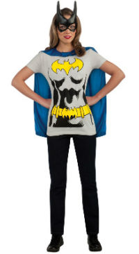 Batgirl T-Shirt Costume Kit