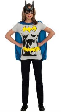 Batgirl T-Shirt Costume Kit