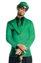 Riddler Halloween Costume for Men