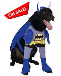 Brave & Bold Batman Dog Costume