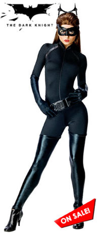 Adult Sexy Batman The Dark Knight Rises Catwoman Costume