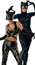 Catwoman Halloween costume sale for woman and child
