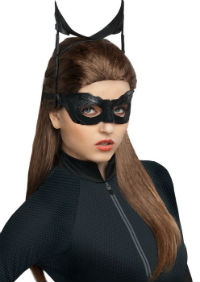 Long Brown Catwoman Wig from Dark Knight Rises