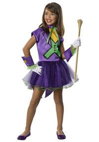 Girls Joker Tutu Costume