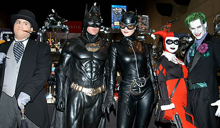 Batman cosplay convention