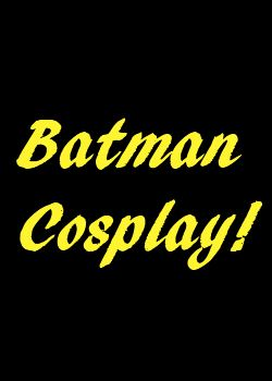 Batman cosplay sale