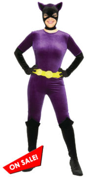 Traditional Comic Book Catwoman Costume
