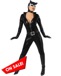 Comic Book Catwoman Halloween Costume 801029
