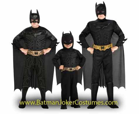 child Batman Dark Knight Halloween costumes sale