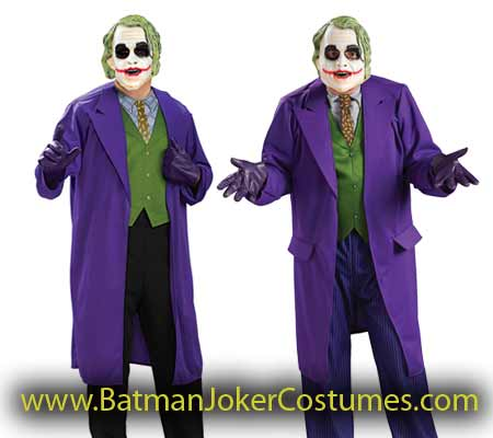 cheap the Joker costume in stock for sale adult men size