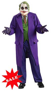 Deluxe The Joker Halloween Costume Sale