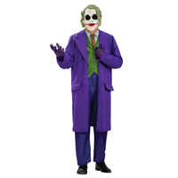 Adult Men Plus Size Deluxe The Joker Halloween Costume