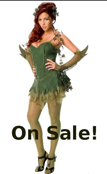 Discount Sale Sexy POISON IVY Costume 60196