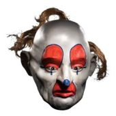 Dark Knight Dopey Halloween Mask from Joker's Bank Robber Clown Gang