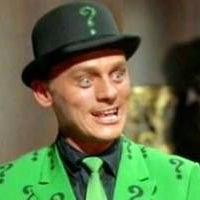 Frank Gorshin Riddler in Batman TV
