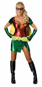 Halloween woman girl Robin costumes