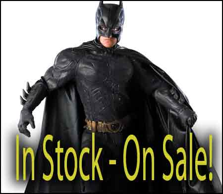 med large xl Batman Grand Heritage costume in stock
