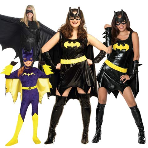 Bat Girl costumes for Halloween sale  sc 1 st  Batman Joker Costumes & Discount Batgirl Halloween Costumes for Sale | Girls Teens Plus ...