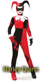 Halloween Harley Quinn costumes