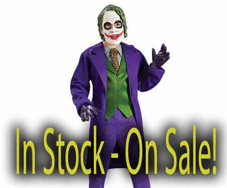 Child deluxe The Joker Halloween costume sale