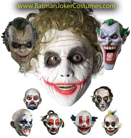 Joker Thug Clown Gang Masks sale