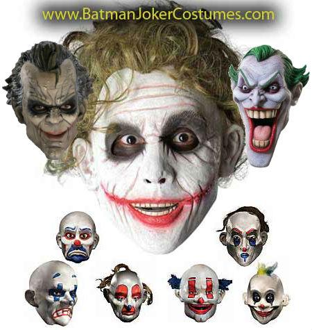 Joker Thug Clown Gang Masks sale