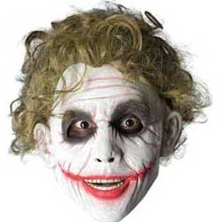 Heath Ledger Joker clown mask sale