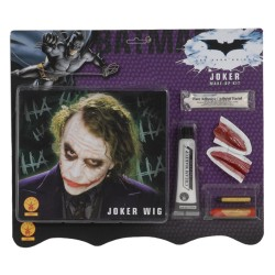 Dark Knight Deluxe Joker Makeup Kit Wig