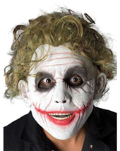 discount Joker Latex Mask The Dark Knight in stock on sale