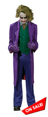 In stock Joker Grand Heritage Halloween Costume 56215