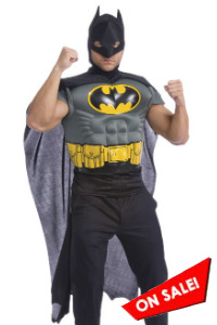 DC Comics Batman Muscle Chest Adult Costume Kit