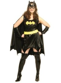 Plus Size Batgirl Dress Costume