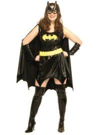 Plus Size Batgirl Dress Costume