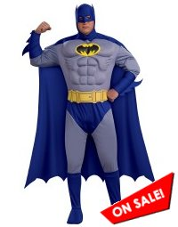 Plus Size Men's Batman Brave & Bold Halloween Costume