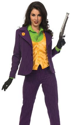 Premium Joker Woman Costume