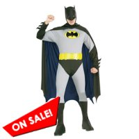 adult classic grey Batman Halloween costume