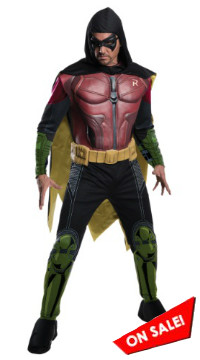 Arkham Origins Robin Costume