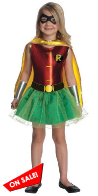 Halloween Robin Girl's Tutu Costume