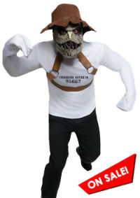 Batman DC Rogues Gallery Scarecrow Costume