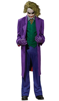 Supreme Edition Joker Grand Heritage Halloween Costume Dark Knight