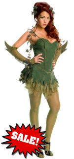 Adult Sexy Poison Ivy Halloween Costume