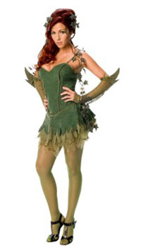 Sexy Poison Ivy costume sale