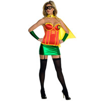 Sexy Woman Robin Costume Dress