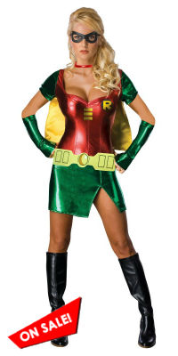 Sexy Female Robin Costume for Women