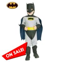 Toddler Grey Batman Halloween Costume
