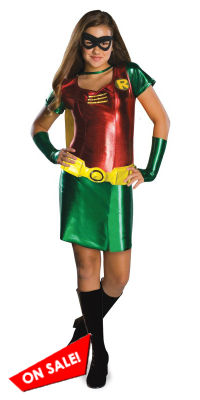 Girls Robin Tween Costume